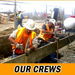 Concrete and Asphalt Construction Crews